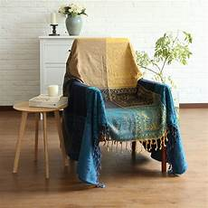 Throws And Blankets For Sofa 3d Image by Bohemian Chenille Blanket Sofa Decorative Slipcover Throws