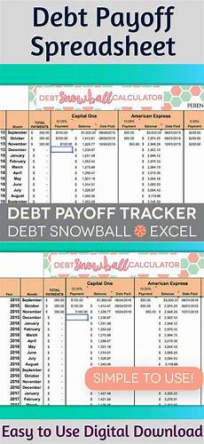 Credit Card Repayment Spreadsheet Perennial Planner Instant Download Debt Payoff Spreadsheet