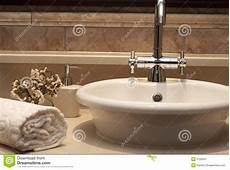 Beautiful Bathroom Sinks Beautiful Sink In A Bathroom Stock Image Image Of Clean
