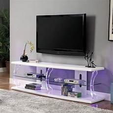 ernst 60 inch tv stand w led lights white 1stopbedrooms