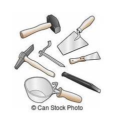 Maurer Werkzeug Setstoff by Freigestellt Realistisch Abbildung Maurer Werkzeug