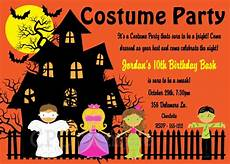 Costume Party Invites Halloween Costume Party Invitations Printable Or Printed