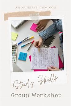 Demonstrate Organisational Skills Study Skills Group Workshop In 2020 Study Skills