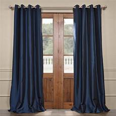 Curtain Images Exclusive Fabrics Furnishings Navy Blue Grommet Blackout