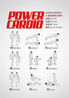 Cardiovascular Exercise Power Cardio Workout
