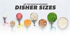 Foodservice Scoop Sizes Chart Ice Cream Scoop And Food Disher Guide Amp Sizing Chart Ice