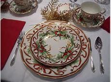 Through a Glass, Darkly: Christmas Tea Tables
