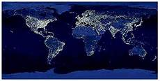World Light Map Introduction Light Pollution Lighting Answers Nlpip