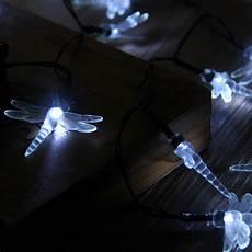 Long Solar Fairy Lights 30 Led White Solar Dragonfly Power Fairy String Lights