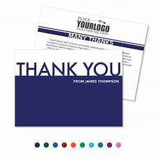 Business Thank You Cards With Logo Thank You Card Your Logo