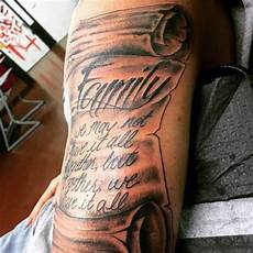 Designs For Men Arms Name 100 Family Tattoos For Men Commemorative Ink Designs