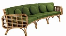 4 Rattan Sofa Set With Cushions Png Image by India Mahdavi Unveils New Rattan Pieces House Garden