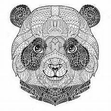 Ausmalbilder Tiere Panda Ausmalbilder Mandala Tiere Panda
