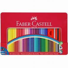 Faber Castell Malvorlagen Uk Faber Castell Colour Grip Pencils Tin Of 48 Cult Pens