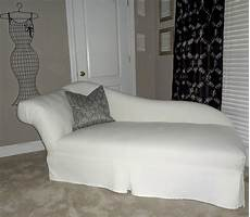 chaise lounge slipcover home furniture design