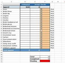 Excel Checklist Template 2013 How To Use Checkboxes To Create Checklist Template In Excel
