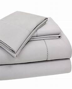 400tc 4 hemstitch solid cotton sheet set with