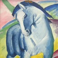 franz marc blaues pferd malvorlage zum herunterladen