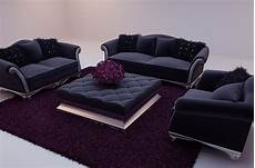 Black Sectional Sofa 3d Image by Black Soft Sofa 3d Model Including Materials 3d Model