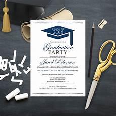 Graduation Announcements Invitations Graduation Announcement Boy Printable Template Navy High