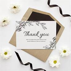 Wedding Thank You Card Examples 5 Tips For Writing Your Wedding Thank You Cards Modern