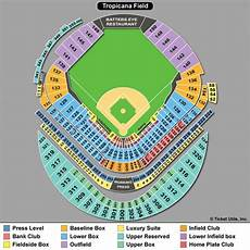 Rays Seating Chart Tropicana Field Tampa Bay Rays Tickets 2018 Rays Tickets