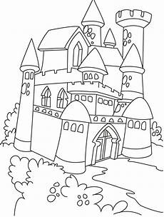 Malvorlagen Prinzessin Schloss Free Printable Castle Coloring Pages For