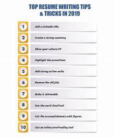 Resume Advise Top 17 Resume Writing Tips Amp Tricks 2019 Resumeperk Com