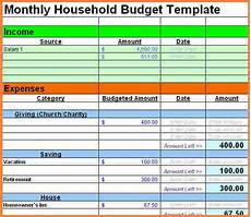 Spreadsheet For A Budget 9 Sample Personal Budget Spreadsheet Excel Spreadsheets