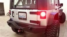 Jeep Jk Flush Mount Lights Jeep Jk Flush Mount Led Conversion By Rockridge Youtube
