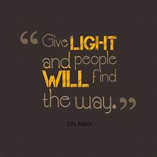 Lighting The Way Mckinsey Ella Baker Quote About Light