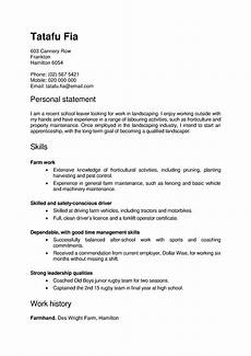 Cv Template Nz Cv And Cover Letter Templates