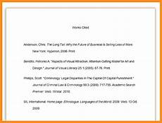 What Is Works Cited Page Works Cited Page Lynch Writing Resources