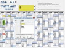 Perpetual Calendar Excel Perpetual Calendar Excel Calendar For Planning
