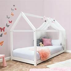 white treehouse house style pine wooden single bed