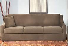 stretch pique four 3 seat sleeper sofa slipcover