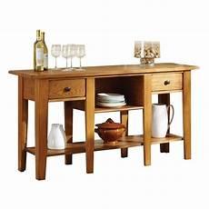 steve silver company liberty sofa table in oak finish ly600s