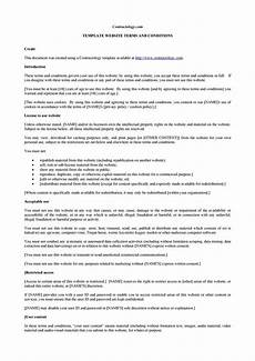 Delivery Terms And Conditions Template 40 Free Terms And Conditions Templates For Any Website ᐅ