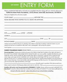Drawing Entry Form Template Word Drawing Entry Form Template Word Lovely Contest Entry Form