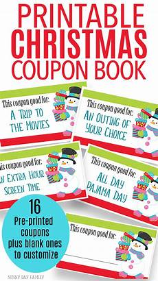 Coupons For Printable Christmas Coupons For Fun Gift Experiences