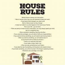 Rental House Rules Template 9 Best Images Of Printable Household Rules Free