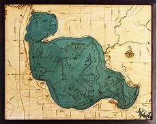 Houghton Lake Depth Map Houghton Lake Dept Chart