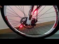 Bicycle Wheel Lights Youtube Wl15 Bicycle Wheel Led Light Installation Demo Youtube