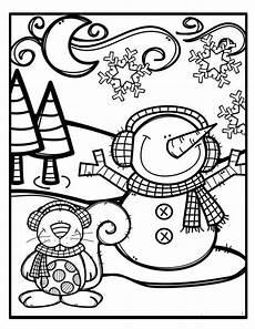 malvorlagen winter weihnachten