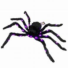 Target Halloween Spider Lights Clearance Halloween Large Spooky Spider With Lights For
