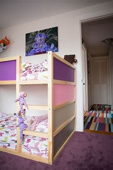 kid friendly diys featuring the ikea kura bed