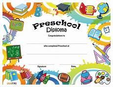 Preschool Graduation Certificates 11 Preschool Certificate Templates Pdf Free Amp Premium