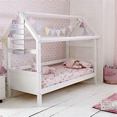 flexa nordic playhouse bed frame 1 in white