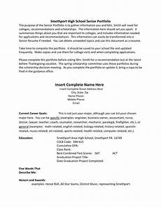 College Resume Examples For High School Seniors 16 Best Images Of Resume Template Worksheet Resume Job