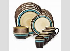 Gourmet Basics by Mikasa® Spector Blue 16 Piece Dinnerware